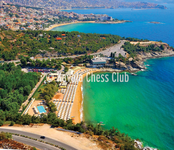 2016 Kavala Chess Club - hosted & developed by manbiz isp Poster
